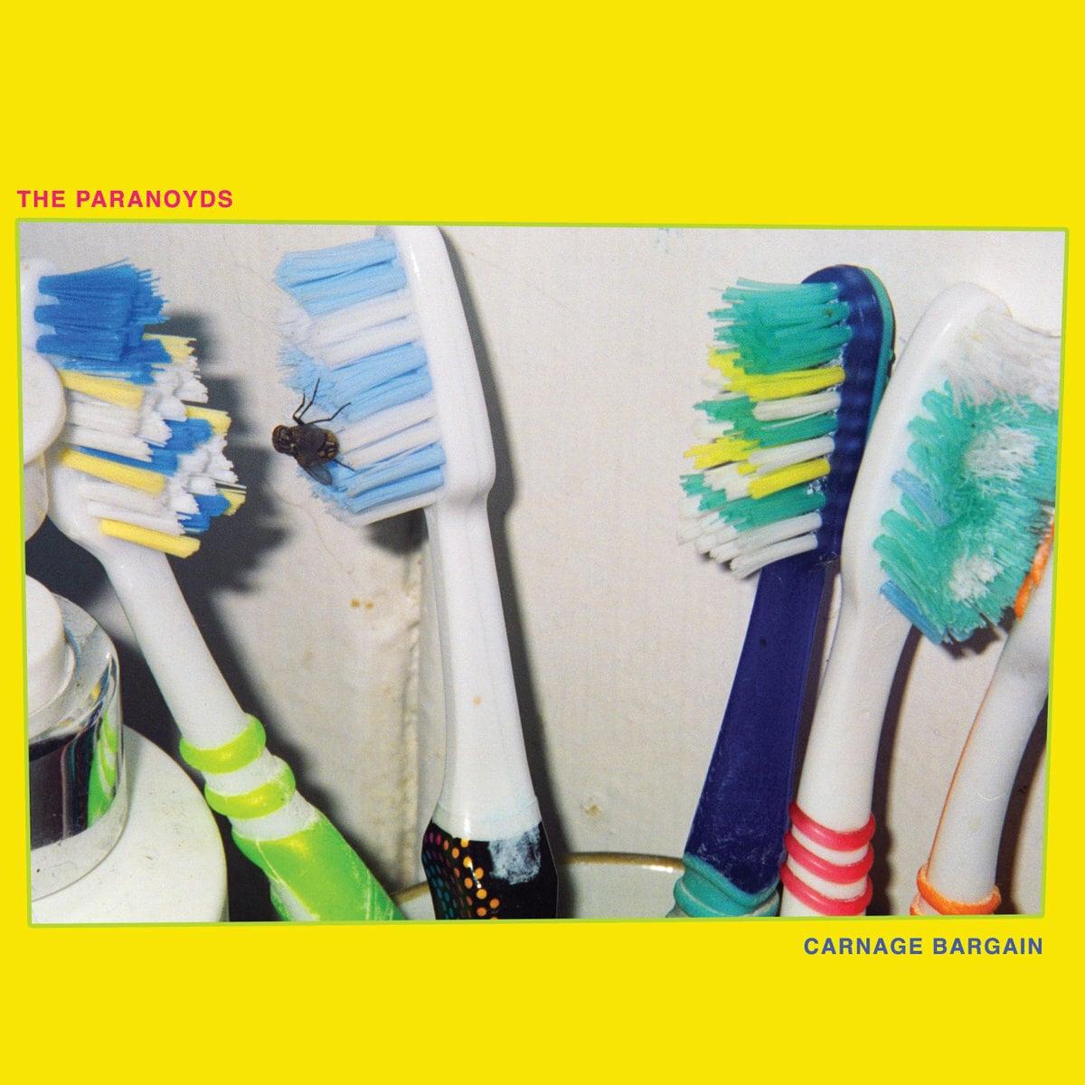 The Paranoyds / Carnage Bargain(500 Ltd LP)