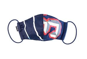 【夏用デザイナーズマスク 吸水速乾COOLMAX使用 日本製】SPORTS MIX MASK CTMR 0820122