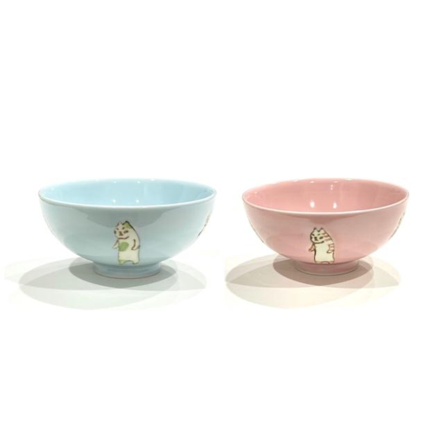たち猫 ご飯茶碗 (子供用)