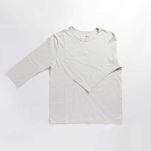 オーガニックコットン使用 炭のTシャツ【七分袖】