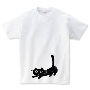 猫のびー Tシャツ メンズ レディース 半袖 大きいサイズ