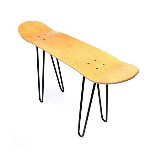 【セット】OSC SKATEBOARD EQUIPMENT ブランクデッキ LEG オーエスシー・スケートボード・エキップメント(ベンチ用の脚2本) デッキ イス テーブル チェアー アウトドア 用品 キャンプ グッズ ソロキャン