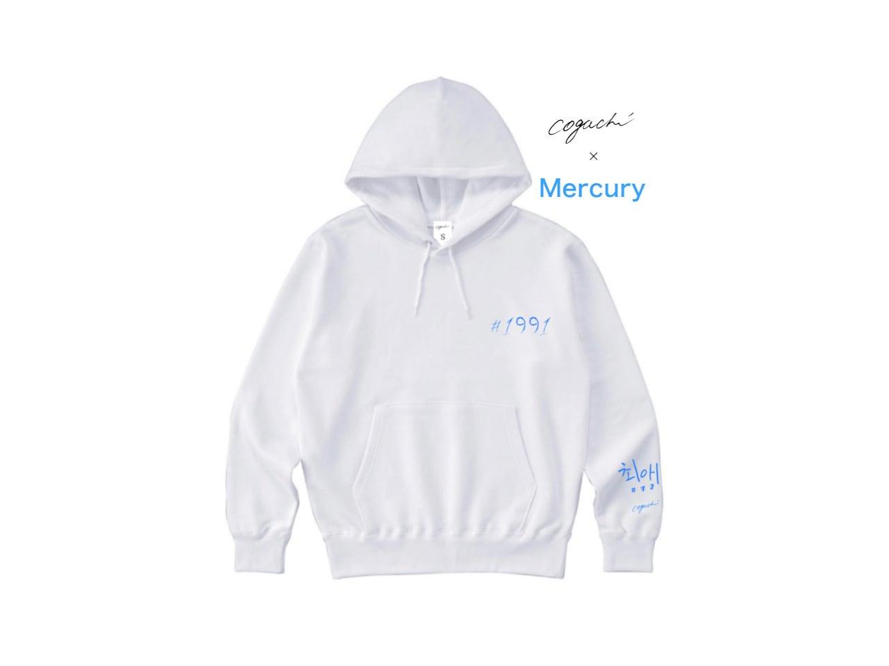 マーキュリー商事 Special Edition Collection 1991 hoodie (WH/LBL)