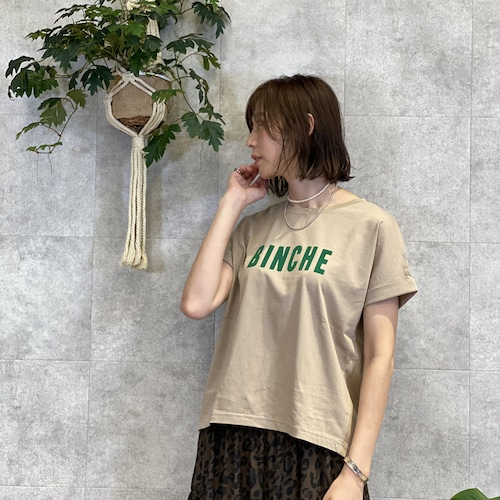 CLOCHE/クロシェ フロッキーロゴカットソー 152-85612