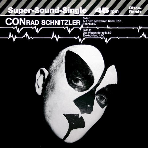 """Conrad Schnitzler - Auf dem schwarzen Kanal (12"""")"""