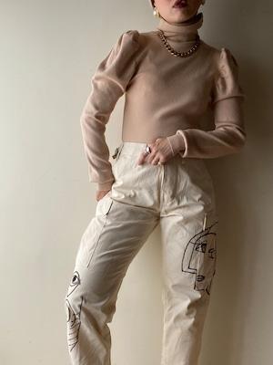 Vintage Picasso Art Pants②