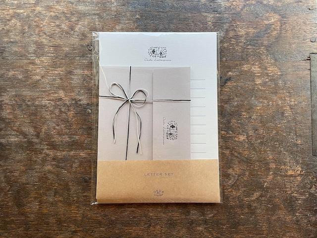 【活版印刷】Renewal / Letter set  [ forest ]