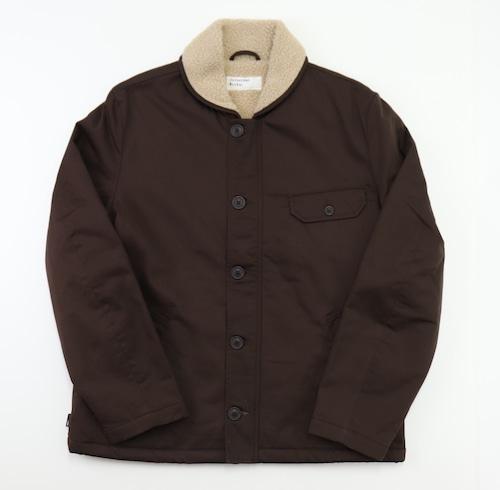 【Universal Works.】N-1 Jacket In Brown Twill