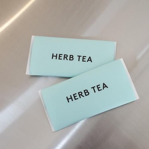HERB TEA [ dairy green ]