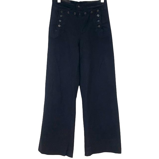 80's Dead Stock U.S.ARMY OG507 Baker Pants W28