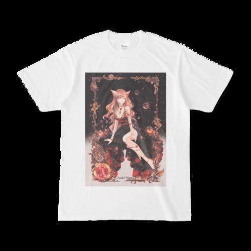 オリジナルTシャツ【星之物語-Star Story- 獅子座-Leo-】 / yuki*Mami