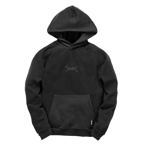 【ASRV】ガーメントダイリバースウィーブフーディ - Black