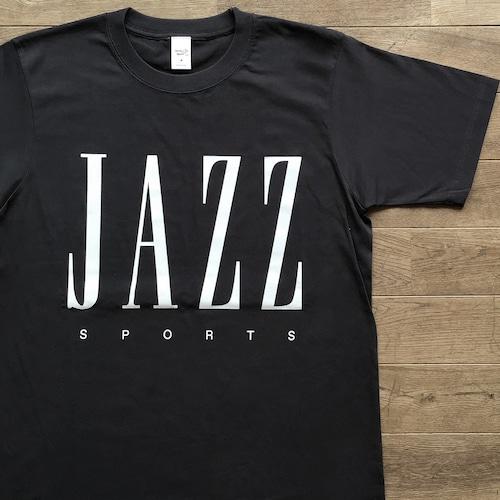 【再入荷】Jazz & Sports Tシャツ/ビンテージ・ブラック