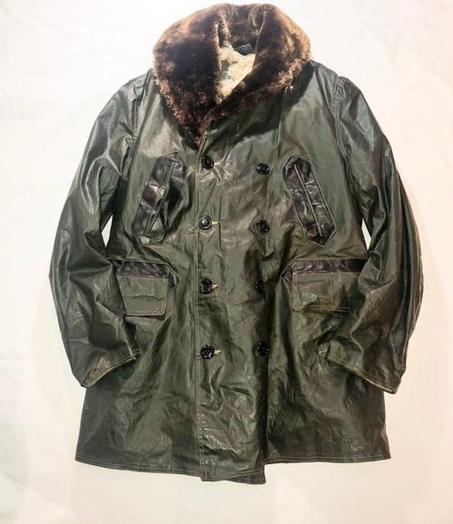 ~50's US NAVY deck coat