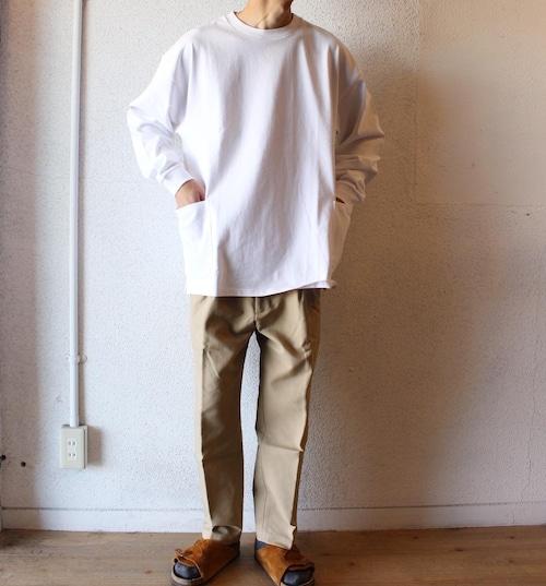 再入荷  ONEITA(オニータ) /  Side Pocket Long sleeve Tee(ガーデニングTシャツ)
