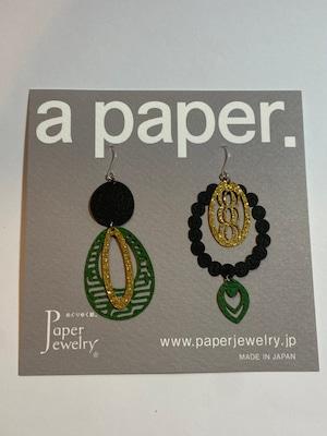 【Paper Jewely】マザー/ピアス