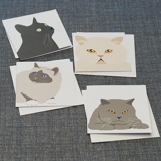 【ann nyström design】二つ折りカード