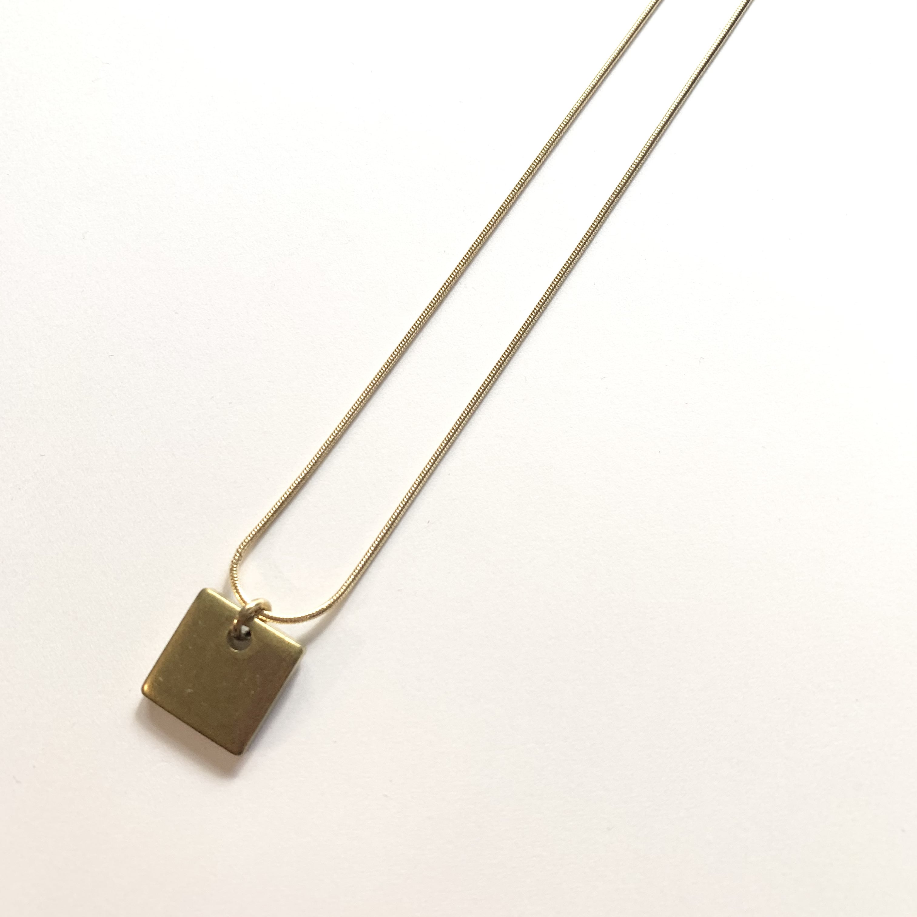 Square Nacklace NC-033
