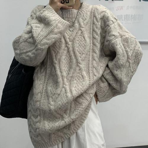 ルーズニットセーター #RD7388
