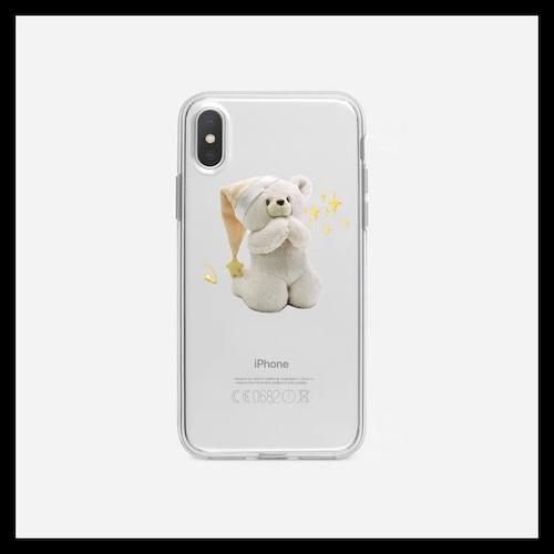 【お取り寄せ】おやすみ くまちゃん iPhoneケース