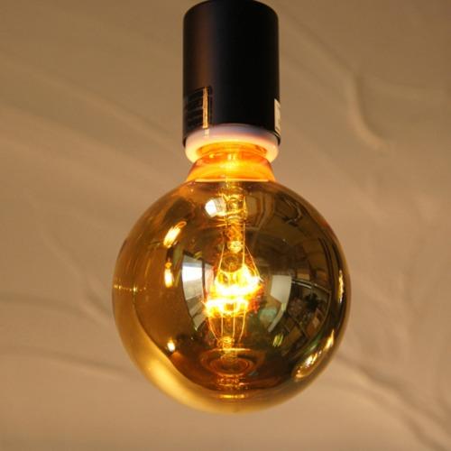 E26 20W ハニーボールランプ ゴールド(白熱電球)※電球のみ