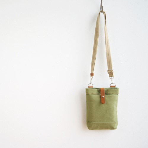 CANVAS CHALK BAG / MOSS GREEN