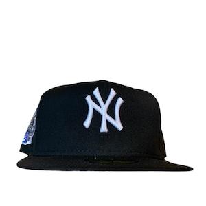 NEW ERA New York Yankees Subway Series 59Fifty Fitted / Black×White (Gray Brim)