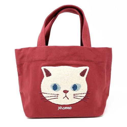 猫トートバッグ(ファミネコトートバッグ)レッド