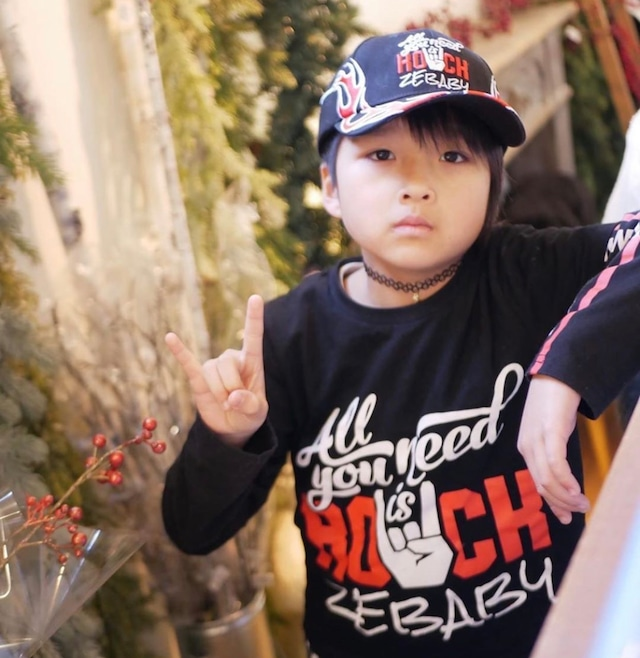 ZEBABY ALL YOU NEED IS ROCK T-SHIRT(税込み)