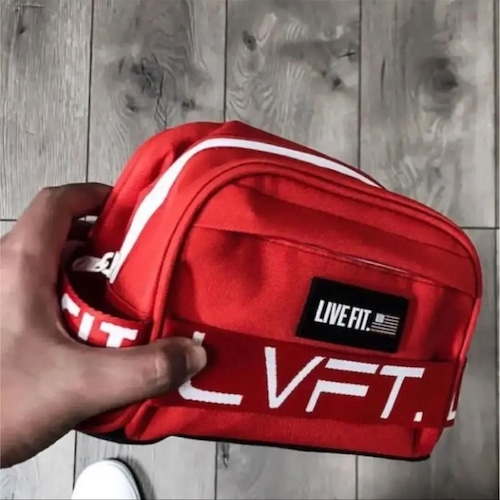 LIVE FIT ポーチ RED