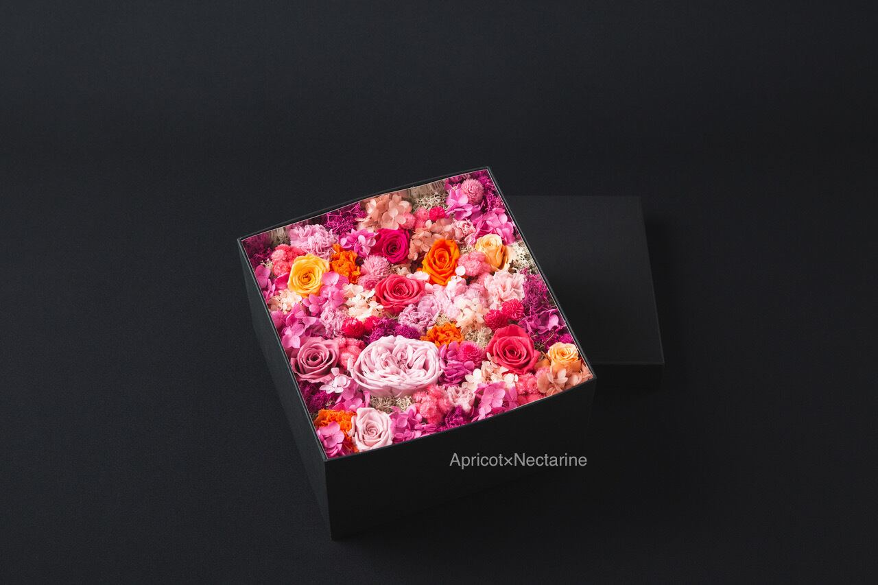 Preserved Flower Box【Size L】全14色
