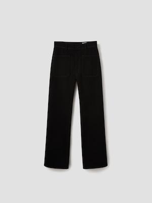 LEMAIRE DENNIM SAILOR PANTS BLACK M 213 PA181 LD069
