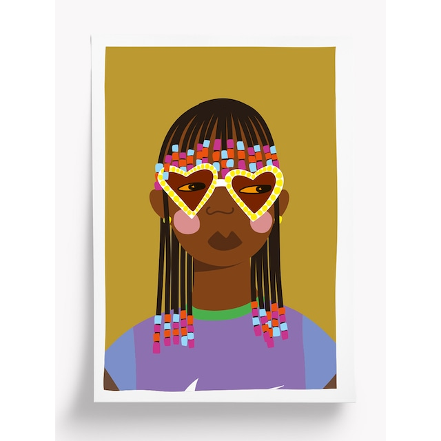 Taxi Brousse - Poster - BABY GIRL (A4)