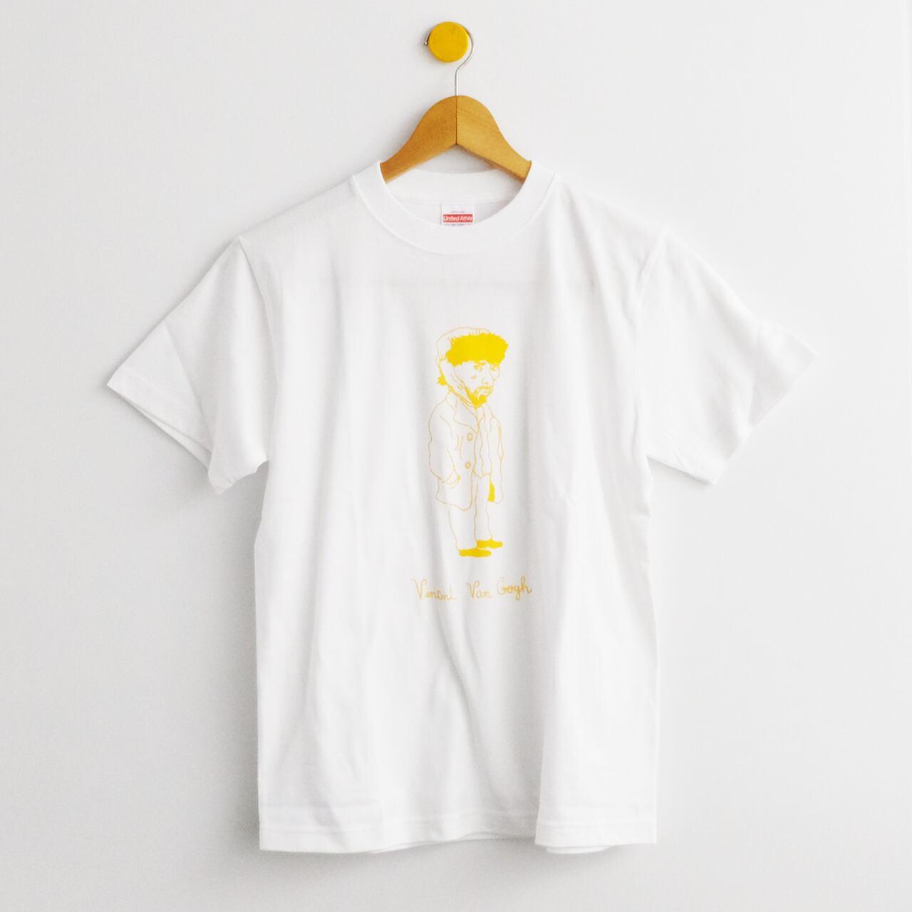 ゴッホTシャツ ホワイト