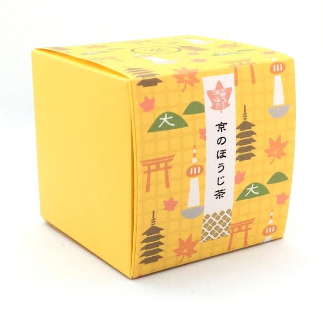 京都の秋|箱茶|古都の紅葉(ほうじ茶ティーバッグ5包入り)