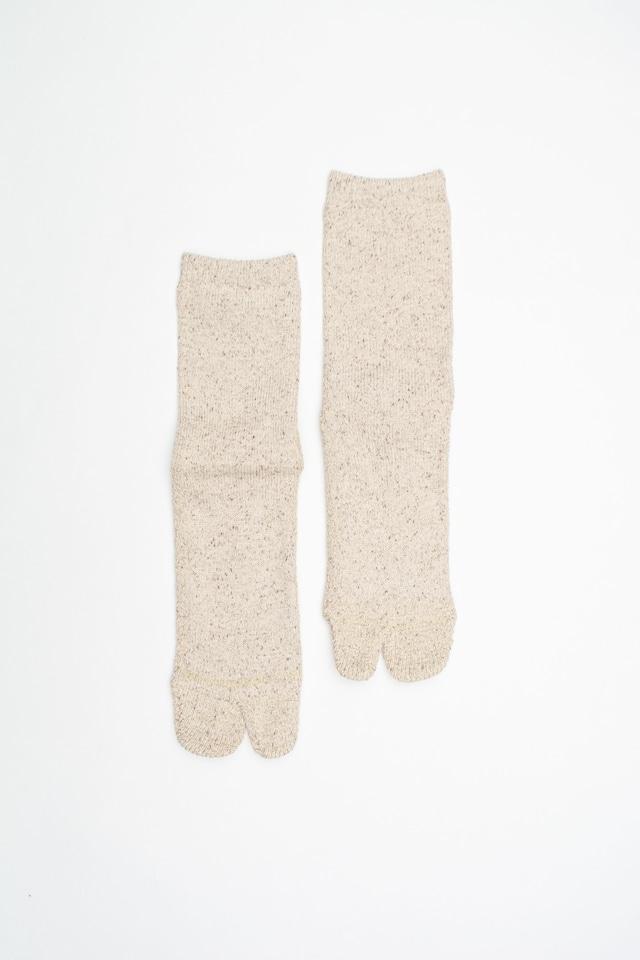 Cotton Silk Socks(Beige)