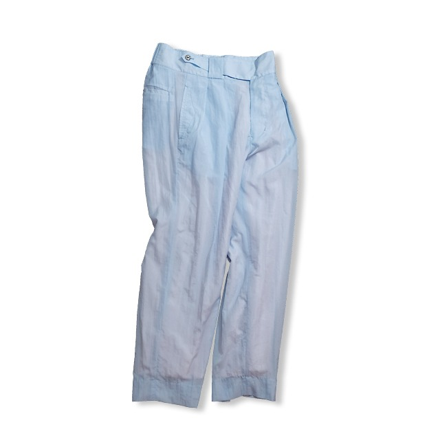 Cropped slacks  [ Pale Blue ]