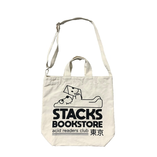 "Ignorance 1 ""Stacks bookstore"" Tote Bag"