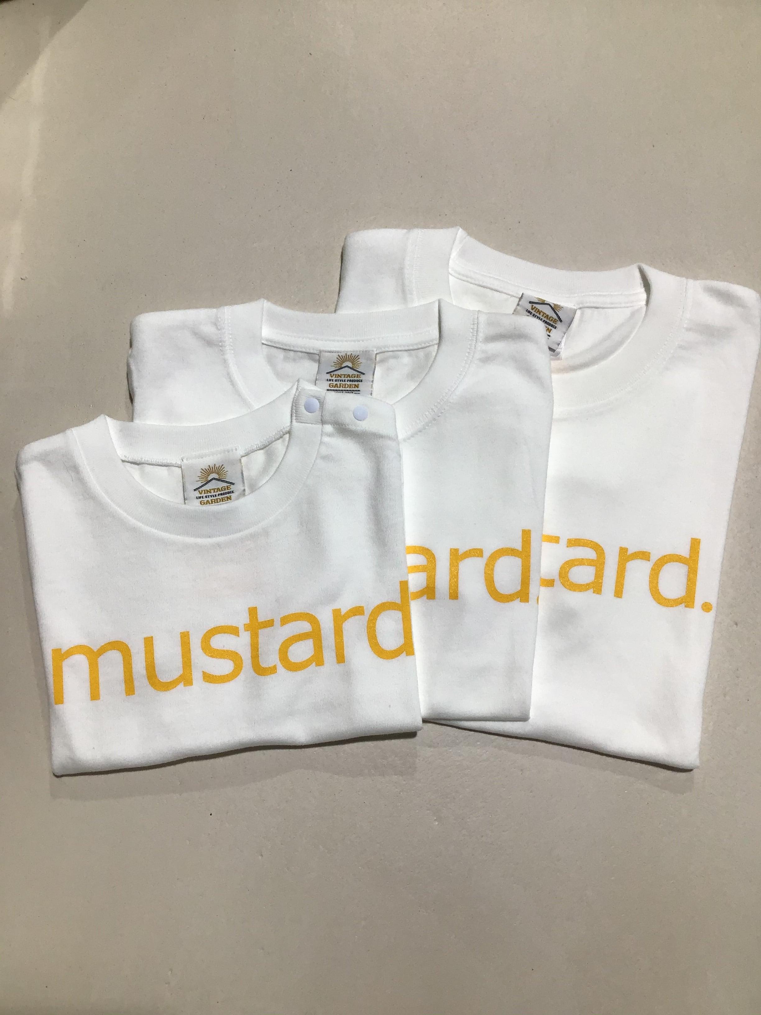 【SALE!】[キッズサイズ]VINTAGE GARDEN 'musterd Tシャツ