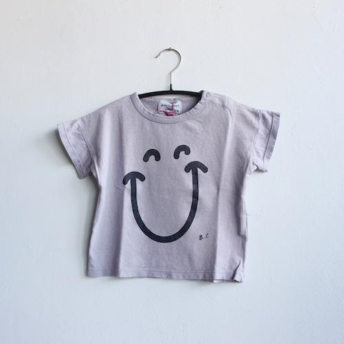 《BOBO CHOSES 2021SS》Big Smile Lila T-Shirt / 6-36M