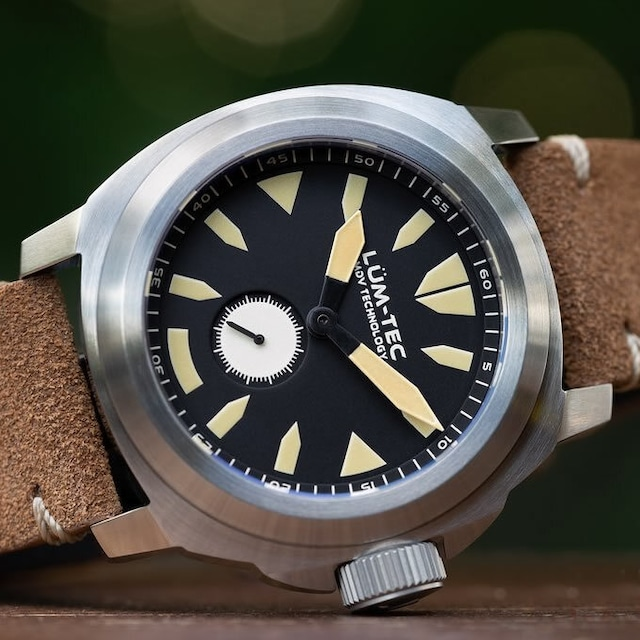 【世界限定500本】Mシリーズ M85 Swiss Ronda 6004.D スイス製 クォーツ ムーブメント ZULU/NATOストラップ メンズウォッチ 腕時計【LUM-TEC/ルミテック】