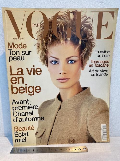 洋雑誌 PARIS VOGUE 1996年MAI  N°767