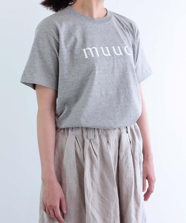 muuc ロゴ Tシャツ (mua000)