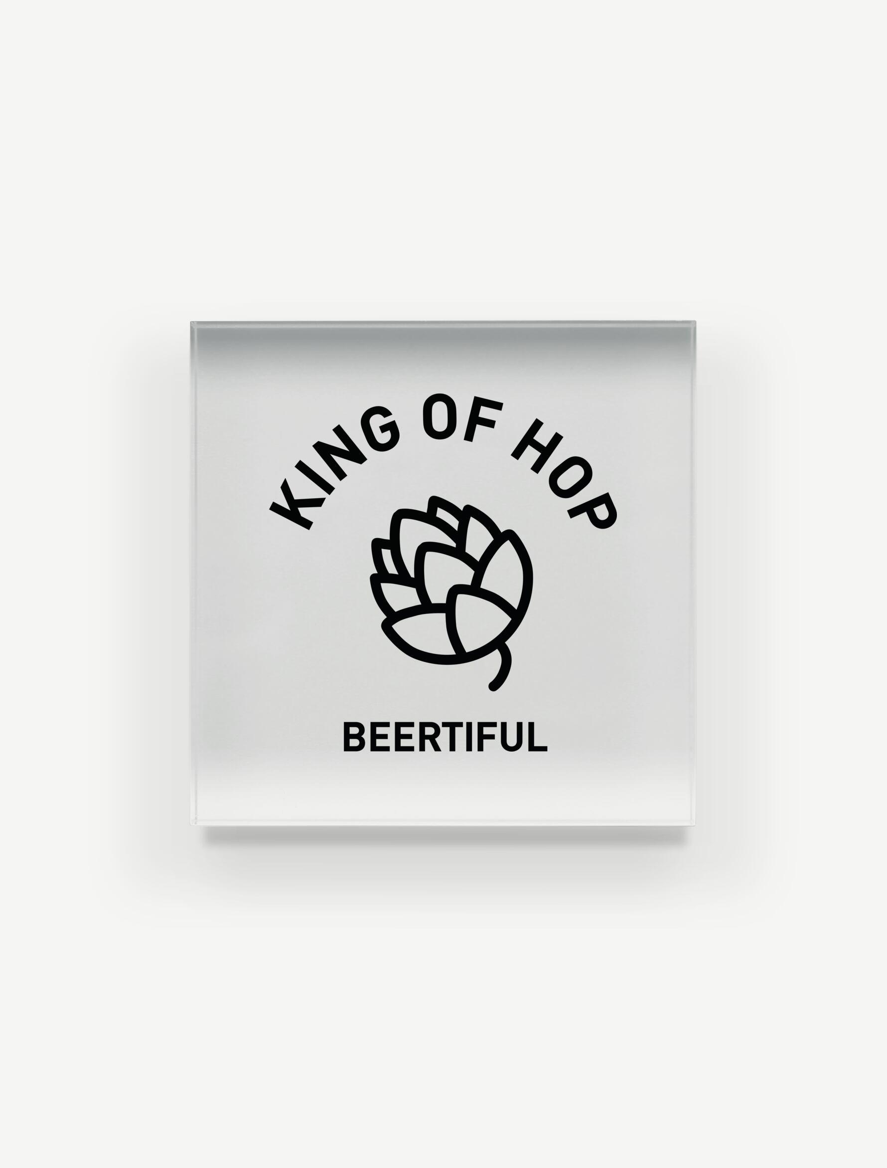 【KING OF HOP】アクリルブロック