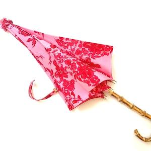 北欧デザイン日傘(晴雨兼用)  パゴダタイプ   stella pink
