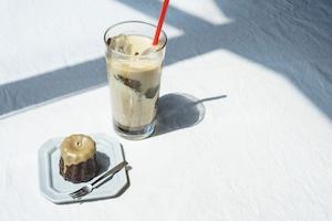 kawara CAFEの「お抹茶」「ほうじ茶」2種セット