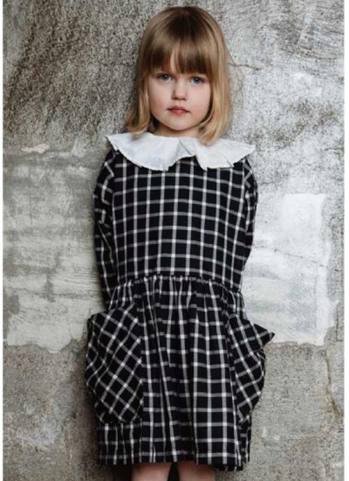 AS WE GROW Pocket Dress / Navy