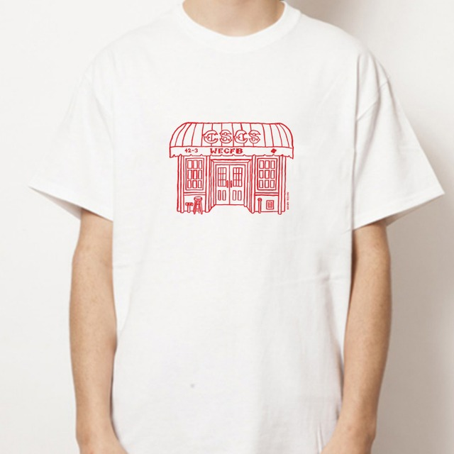 CSCS Tシャツ <NAIJEL GRAPH X COFFEE SUPREME>