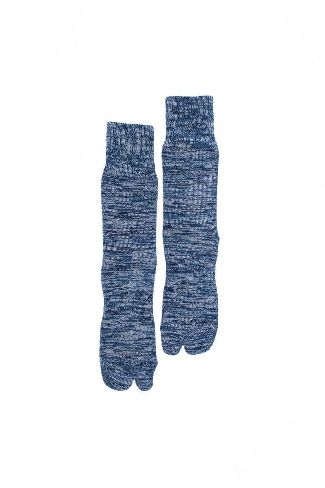 4Color Mix Socks (Blue)