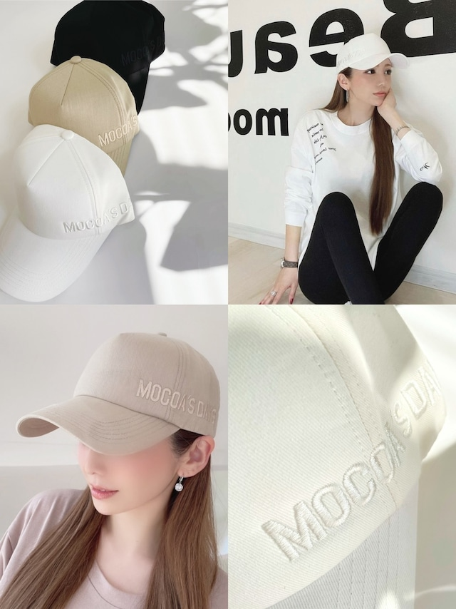 再入荷!MOCOA'SDAYS CAP ¥4,800+tax